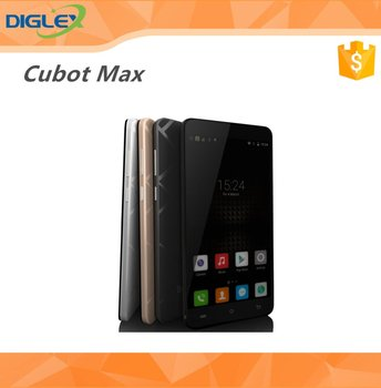 Amazing CUBOT Max 6.0 Inch MT6735A 1.3GHz Quad-Core 3GB+32GB 5MP+13MP 4100mah Mobile Phone