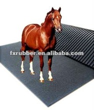 rubber anti- slip horse cow stable matting