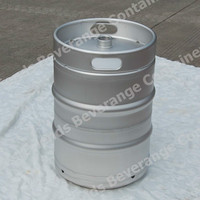 Beer Keg US Slim 1/2 Barrel 15.5 gal stainless steel