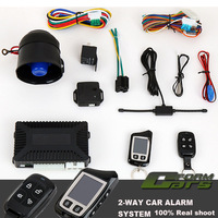 NEW Two Way Car Alarm System LCD Remote Control Auto Pager Security