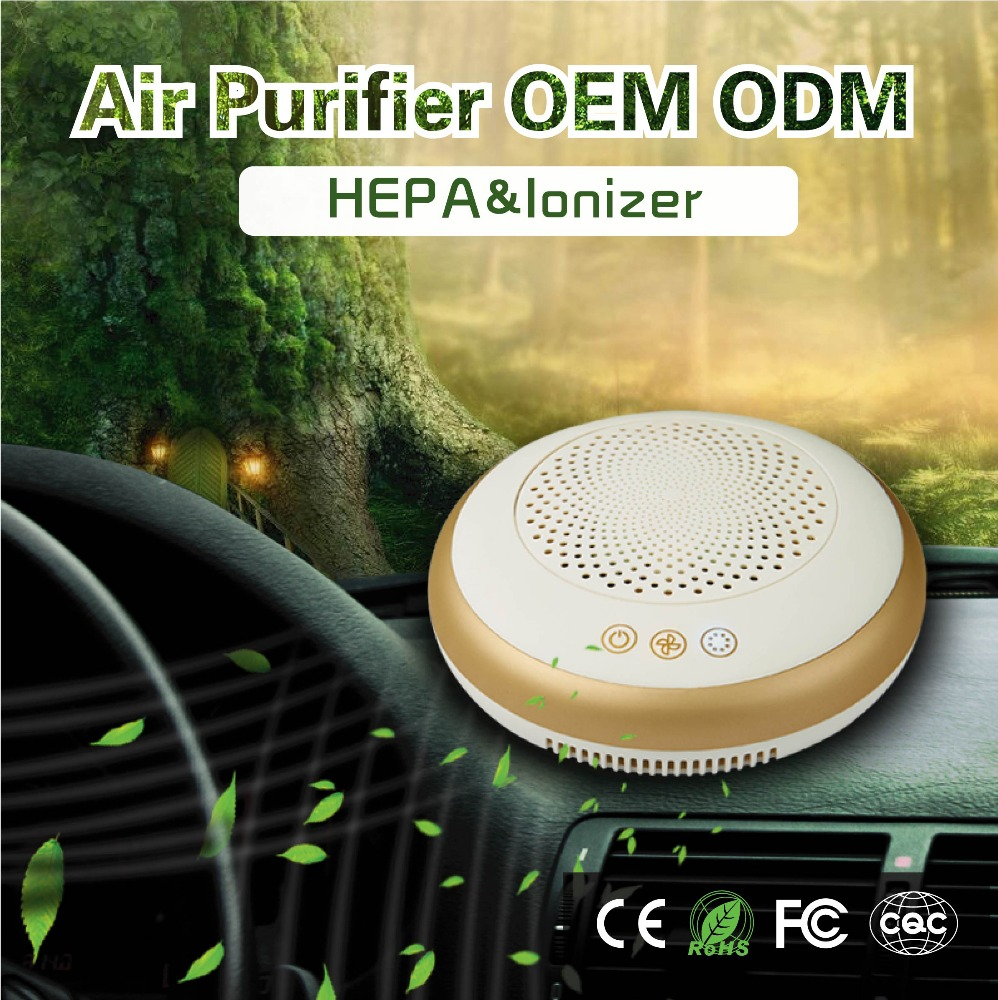 1 year warranty car hepa air purifier DFQ-501