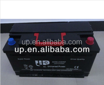 DIN Standard 12v100ah MF AUTO car Battery