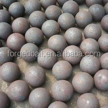 China High Quality Dia 20-150mm Steel Material Forged Iron Ball / cement mill Grinding Media Carbon Balls