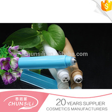 plastic deodorant container with roll on water transfer printing bottle