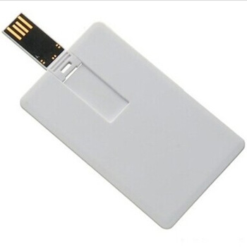 Personalized Business Credit Card USB Flash Drive With Full Color Printing Logo On Both Sides