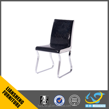 Liansheng Furniture hot sale dining chair with metal frame used in dining room