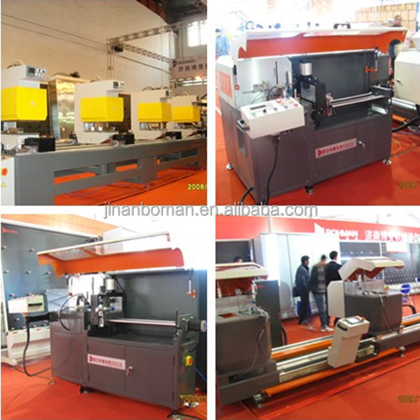 Small Automatic Control End Milling Aluminum Machine Windows and Doors