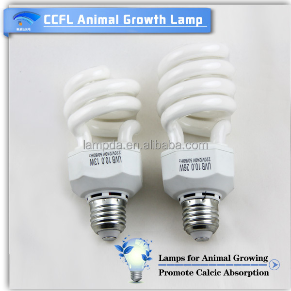 easy install integrated light induction grow lamp ccfl light for animal growth