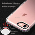 DFIFAN Shockproof clear case for iphone 8 covers, Spot Stock High transparency mobile case cover for iphone 8
