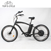 TOP E bike Vintage a2b Electric Cruiser Beach Bicycle 26inch Electric Bike China