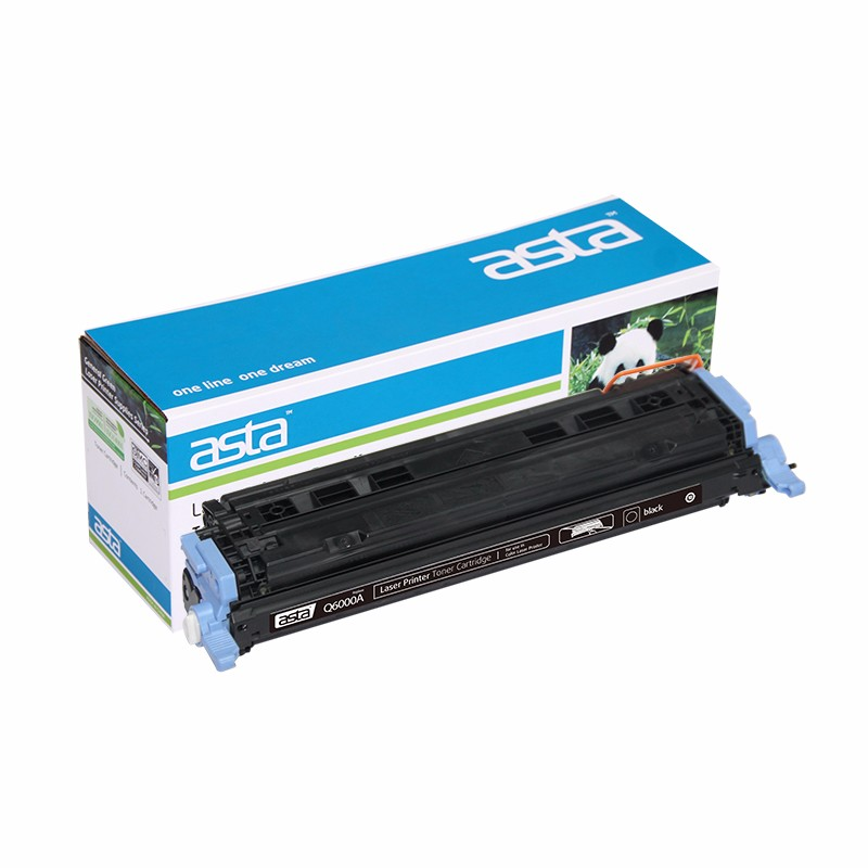 ASTA Factory Direct Sale Top Quality Color Toner Cartridge Q6000A Q6001A Q6002A Q6003A 124A Compatible for HP Printer