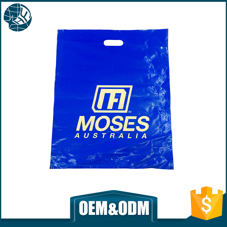 Custom logo plastic bag imported from china excellent quality pe plastic bag for clothes