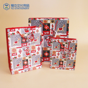 Top quality paper material gift secret compartment bag