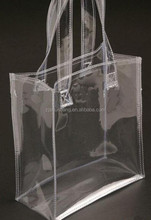2015 cheap fashional clear tote pvc bag