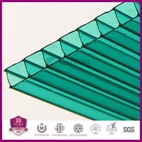 GREEN polycarbonate hollow sheet with good price and quality