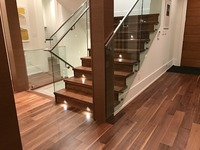 Canada Hardwood Market AB grade High quality Engineered Walnut Flooring TOP layer 3mm thickness American Black Walnut Floors