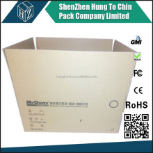 Personalized strong custom cardboard paper packaging moving shipping old corrugated outer carton box