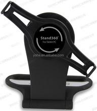 Tabletop adjustable for i-pad2&3&4 kiosk stand with 360 rotatable bracket for apple ipad tablet