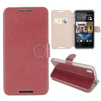 Crazy Horse Texture with Card Slot Magnetic Leather Flip Cover Case For HTC Desire 820