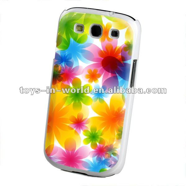 shining flower case for samsung galaxy s3 i9300