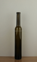 375ml ice wine glass bottle antique green 37.5cl icewine bottle 0.375L glass wine bottle in china