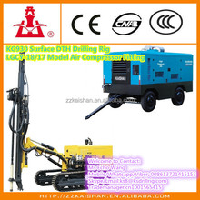 KG930A Mines Rock Drilling Rigs / Pneumatic Rock Bolt Drilling Rig / Rock Blasting Drilling Rig