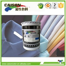 Eco friendly pigment concentrates for dying yarn textile dyeing