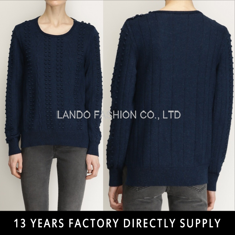 2015 autumn season women wear knitted sweater