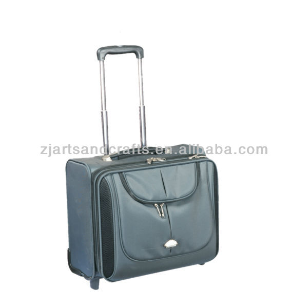 FH10-74 600D polyester EVA 16'' laptop trolley