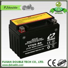 low self-discharge rechargeable maintenance free motorcycle (12v)24v 9ah lead acid battery