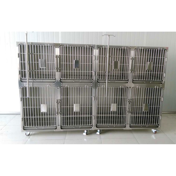 custom made factory-direct prices modular dog cage pet cage vet use animal clinic hospital