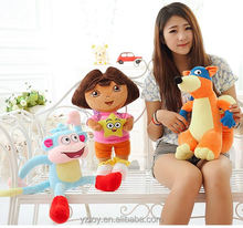 Anime Dora the Explorer Plush <strong>Toys</strong> Dora Boots Monkey Swiper Fox Soft Stuffed Animals Doll Dora aventureira Kids <strong>Toys</strong>