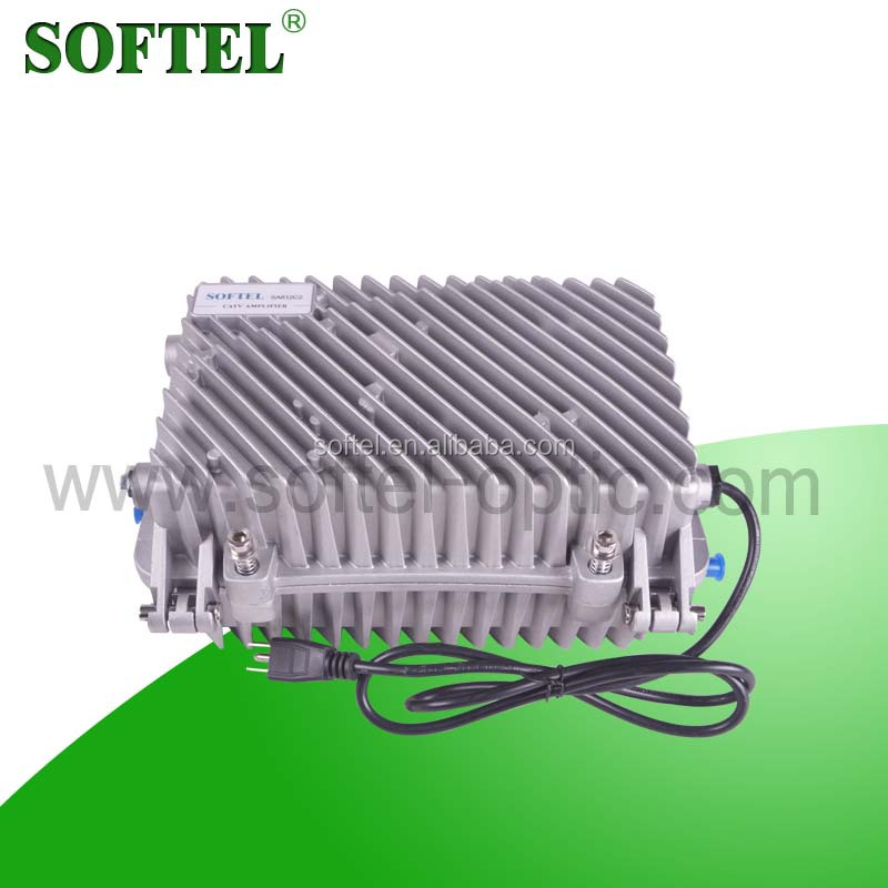 (Softel)CATV Outdoor 2 Way RF Power Amplifier With Waterproof Housing | TV RF Amplifier