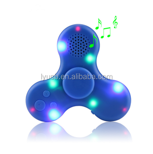 NICOUSBN139 LED light hand spinner MP3 Music Media Player suppoer tf card colourful digital Mp3 player