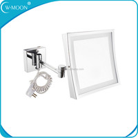Square Shape OEM LED Light Mirror Infinity Make Up Mirror