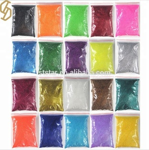 Factory Supply Colorful Wholesale Bulk Biodegradable Glitter Powder Crafts Glitter