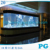 PG Large Custom Oval Double Bullnose Acrylic Fish Tank Aquarium