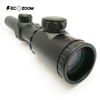 1-6x24 The Most Accurate Tactical Hunting Rifle Scope Triple Duty Illuminated Riflescope for Large-caliber Rifles