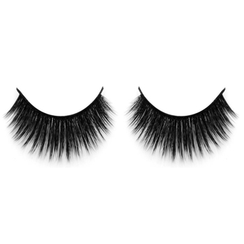 Good quality beauty supply 100% real 3D faux mink fur lashes manufacturer