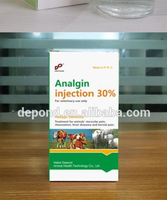 veterinary medicine cattle antipyretic analgesics drugs 30% 50% Analgin injection for livestock farming