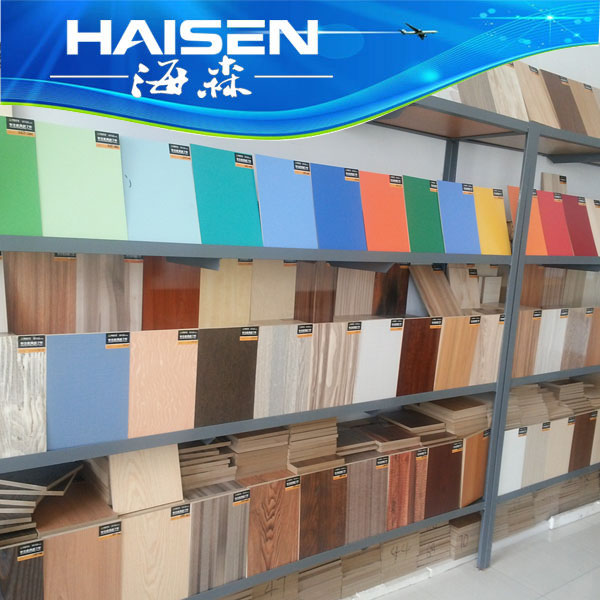 different colors melamine boards faced mdf