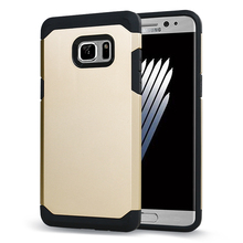Para Samsung Galaxy Note 7 Case, Dual Layper Super Armadura Case para Samsung Galaxy Note 7