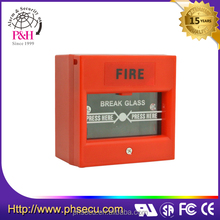 break glass fire emergency exit door release button