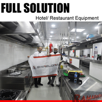 Commercial Used 5 Star Hotel Kitchen Equipment List