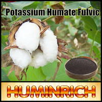 Huminrich 75HA+15FA+8K2O Potassium Fulvate Good Quality Agriculture Fertilizer