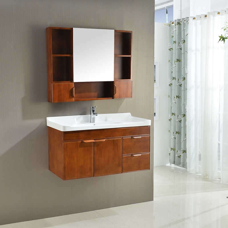 1077 custom color modern style waterproof bathroom vanity units