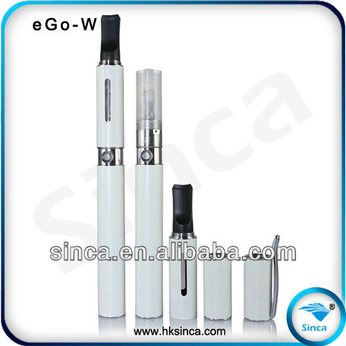 Hottest electronic cigarette 20% shipping off pen style ego-w atomizer variable voltage battery e-cigarette