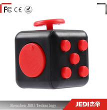 Colorful magic cube fidget toys stress reliever cube_HL3361