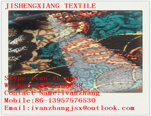 jishengxiang cashmere like fabric with carton printed pattern best wool like fabric supplier