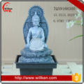 Budhism Feature Polyresin Feng Shui Fountain Desktop For Sale